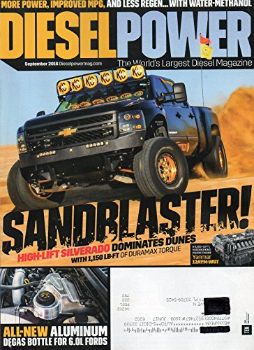 Diesel Power 2016 The World's Largest Diesel Magazine MORE POWER, IMPROVED MPG, AND LESS REGEN...WITH (Ford F250 Mpg)