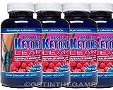 4 BTL RASPBERRY KETONE LEAN BEST #1 MARITZMAYER Fat Weight Loss 1200 mg 60 Cap