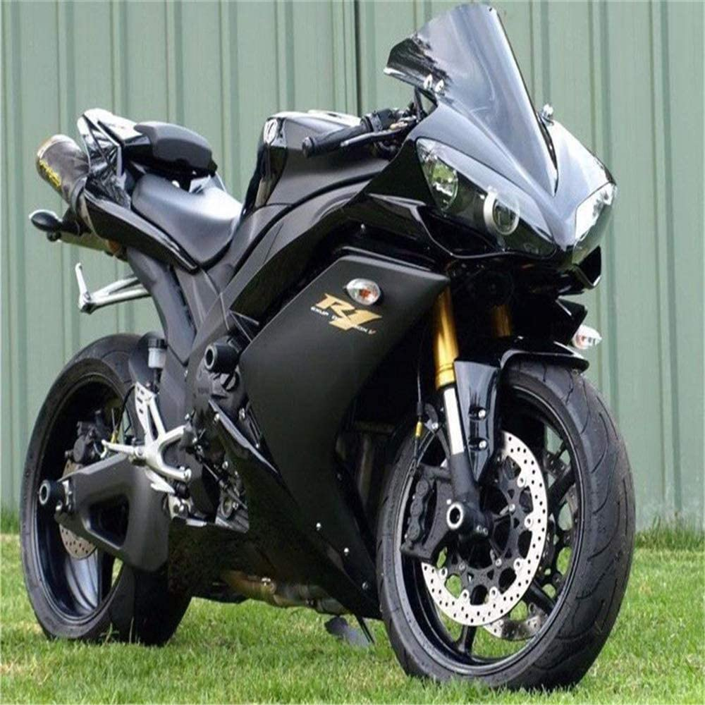NT FAIRING Glossy Matte Black Injection Mold Fairing Fit for Yamaha 2007 2008 YZF R1 R1000 YZF-R1 New Painted Kit ABS Plastic Motorcycle Bodywork Aftermarket