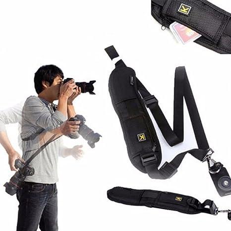 K tipo Safe - Correa de hombro para cámara réflex digital DSLR ...