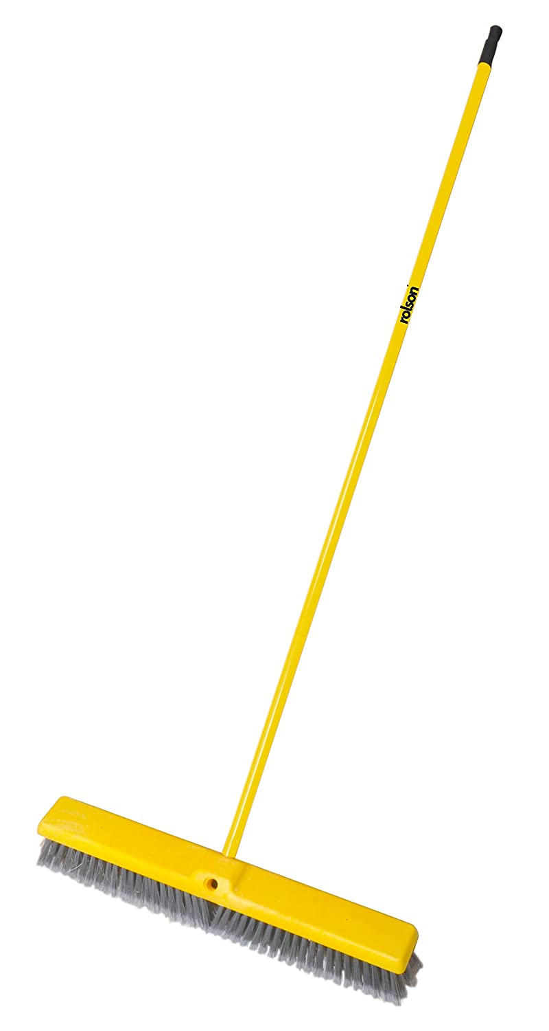 Rolson 61016 Broom, Black