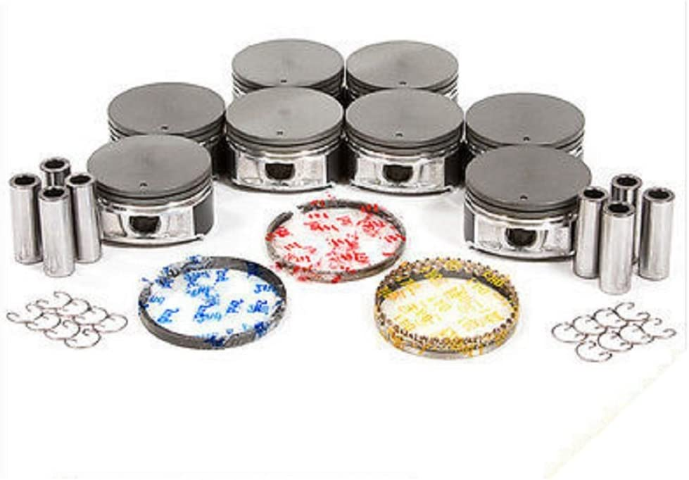 Piston And Ring Ford 5.4L 3-Valve Per Cylinder 24-Valve Engine Free Shipping