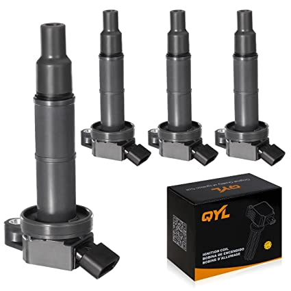 Amazon.com: QYL Pack of 4Pcs Ignition Coils Compatible with Toyota on 1997 toyota celica wiring diagram, 1985 toyota 4runner wiring diagram, 2002 toyota highlander wiring diagram, 1991 toyota celica wiring diagram, 1998 toyota 4runner wiring diagram, 1999 toyota 4runner wiring diagram, 2005 toyota highlander wiring diagram, 2003 toyota highlander wiring diagram, 1997 toyota avalon wiring diagram, 1996 toyota tercel wiring diagram, 1987 toyota supra wiring diagram, 1995 toyota tacoma wiring diagram, 1994 toyota camry wiring diagram, 2004 toyota highlander wiring diagram, 1992 toyota tercel wiring diagram, 2010 toyota camry wiring diagram, 2007 toyota tacoma wiring diagram, 1988 toyota 4runner wiring diagram, 2001 toyota sequoia wiring diagram, 2007 toyota 4 runner wiring diagram,