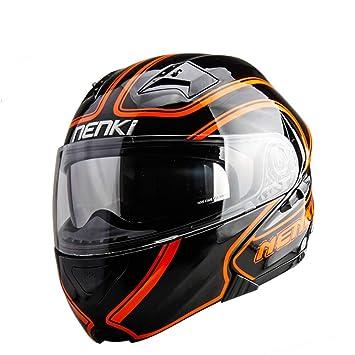 1-1 Cara Completa Moto Cascos Fuera del Camino La Seguridad Hombres Y Mujeres Al