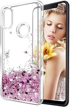 Funda Xiaomi Mi A2 Lite, Líquido Glitter Suave TPU Silicona Carcasa para Xiaomi Mi A2 Lite Brillante Bling Purpurina llamativa Delgado Flexible Protectora Case Cover: Amazon.es: Electrónica
