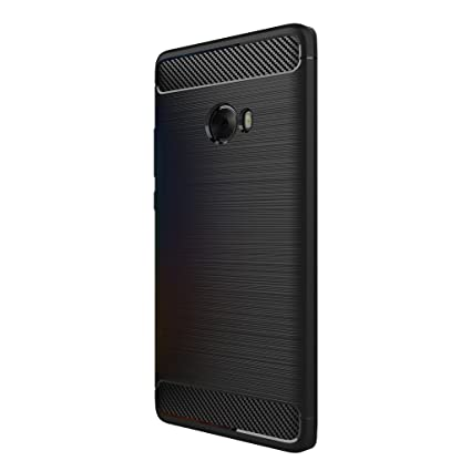 quite nice a0fde 9a3a3 XiaoMi Mi Note 2 Case - Ultra Thin Soft TPU Shock Proof Back Cover with  Carbon Fiber Design Protective Case for XiaoMi Mi Note 2 - Black