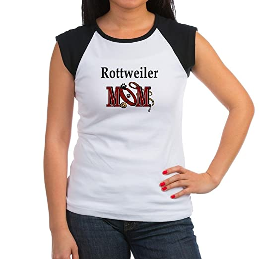 Amazoncom Cafepress Rottweiler Mom Womens Cap Sleeve T Shirt