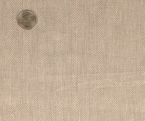 Classic Herringbone Stretch Linen Fabric (Stretch Linen Blend)