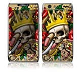 Motorola Droid Razr, Razr Maxx Decal Phone Skin Decorative Sticker w/ Matching Wallpaper - Traditional Tattoo 1