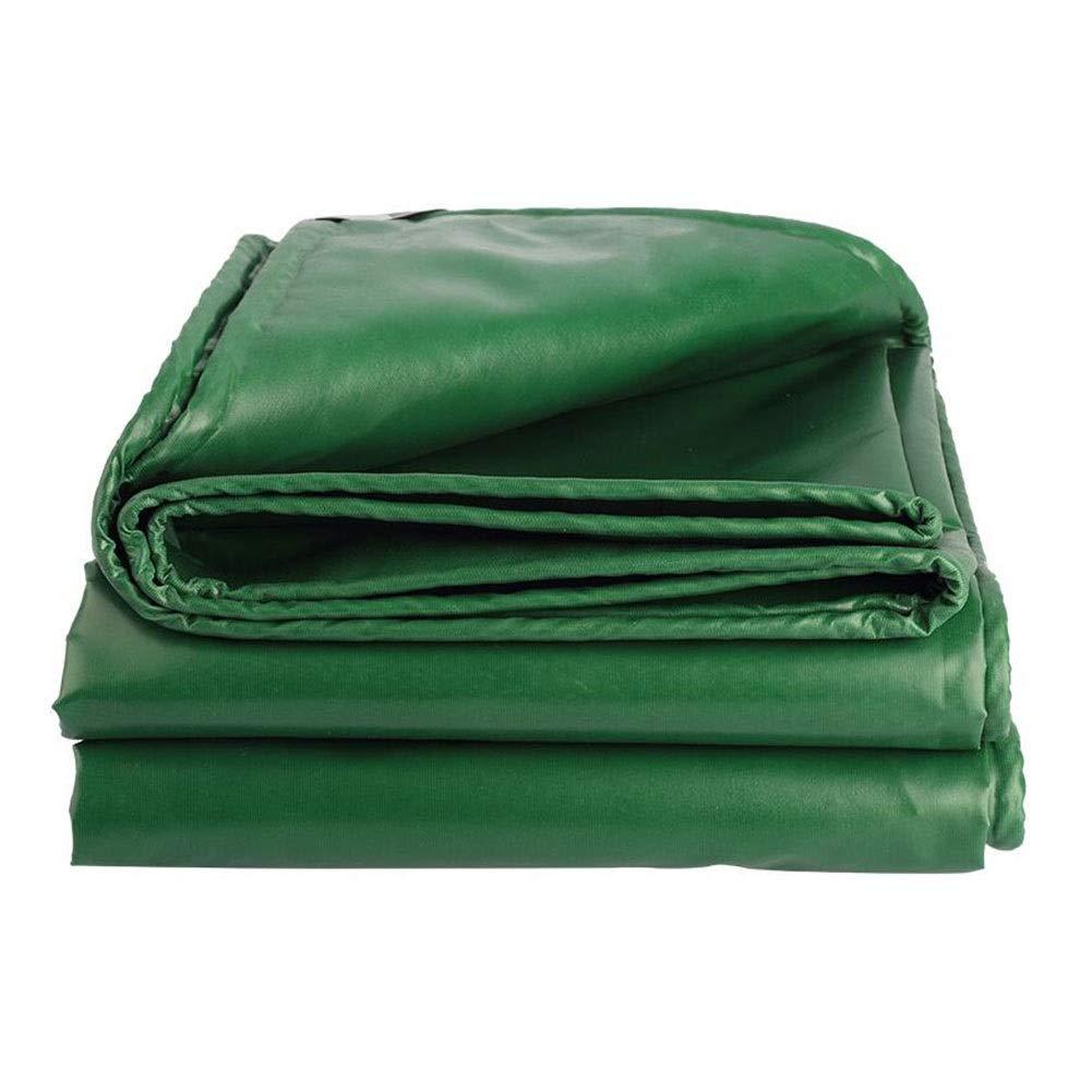 CJC Voiles d'ombrage Heavy Duty BÂche Doux Et Durable Double Face étanche pour De Plein Air Jardins Un Camion (Couleur   vert, Taille   5x8m) vert 5x8m