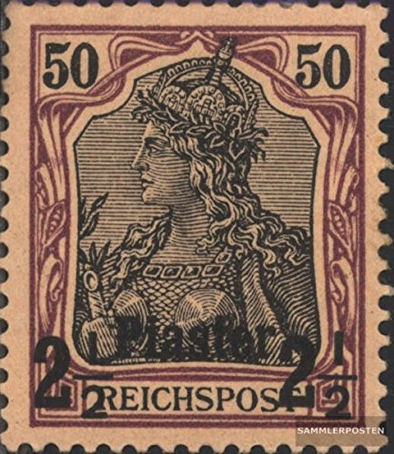 German. Post Turkey 18 1900 Print Edition (Stamps for Collectors) -
