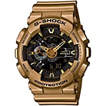Casio - G-Shock - Big Case Series - Black / Yellow Gold - GA110GD-9B