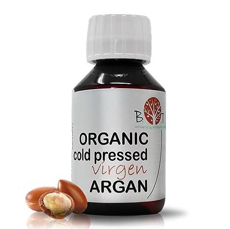 Aceite Organico de Argan Virgen Prensado en Frío (100 ml)
