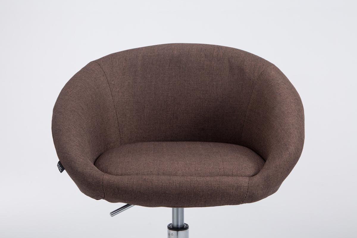 Clp sgabello imbottito lounge miami v2 in tessuto u2013 sgabello