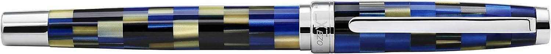 Penna stilografica media colore: Blu stile retr/ò Xezo Urbanite
