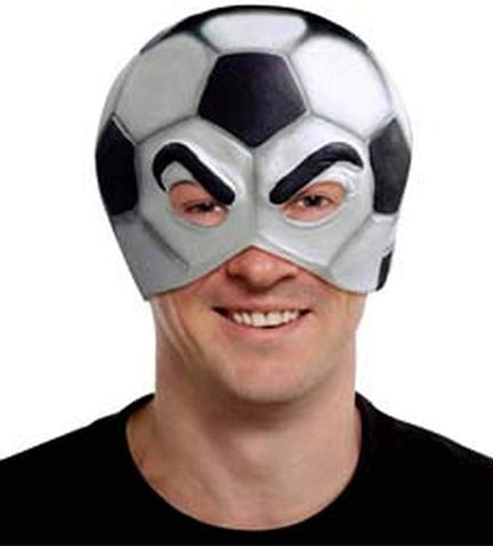 Máscara de balón de futbol adulto: Amazon.es: Juguetes y juegos