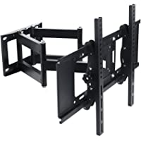 Lumsing Dual Articulating Arm Full Motion TV Wall Mount Bracket Tilt Swivel for 27-70 Inch TV