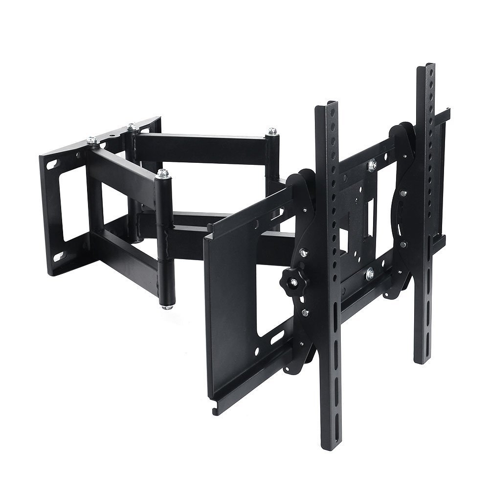 Lumsing Full Motion Dual Articulating Arm TV Wall Mount Bracket Tilt Swivel for 27-70 Inch TV LED LCD Plasma Flat Screen Monitor VESA 600X400mm TV Wall Mount-0026