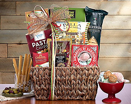 Wine Country Gift Baskets Taste of Italy (Italy Gift Basket)