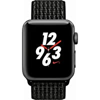 Apple Watch Nike+ Series 3 38mm GPS + Cellular Watch (Unlocked) (Space Gray)