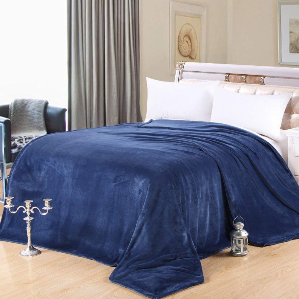 Mabmeiyang 冬の厚い毛布、暖かい単一の二重タオルのキルト毛布を並べるベッド (Color : 200x230cm(79x91inch), サイズ : M) B07SJL6ZL3 200x230cm(79x91inch) Medium