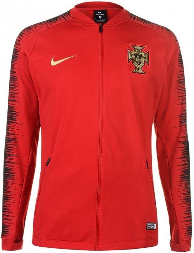 Nike 2018 2019 Portugal Anthem Jacket (Red)