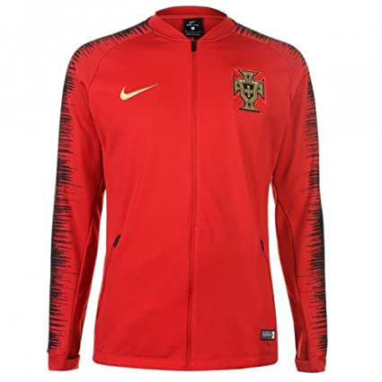 site réputé 5f269 148dd NIKE 2018-2019 Portugal Anthem Jacket (Red)