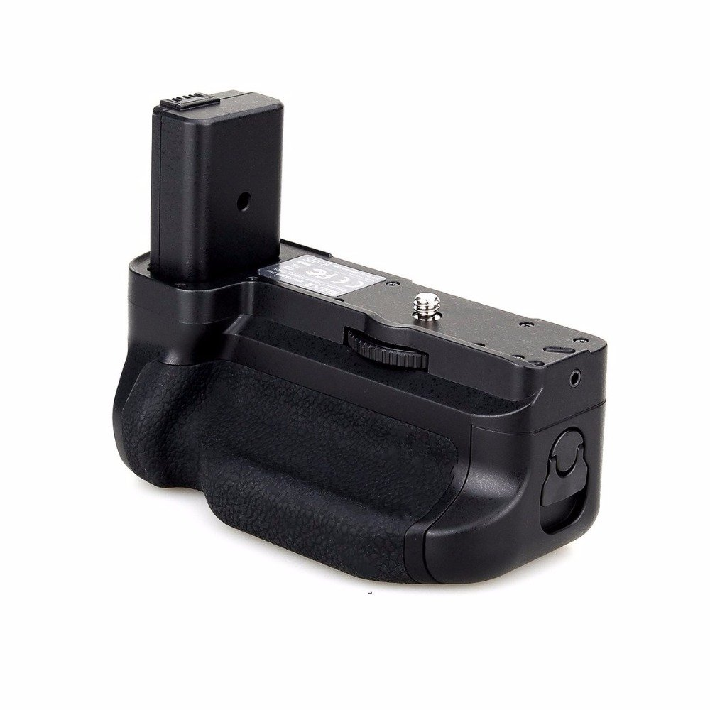 Meike MK-A6300 Vertical Shooting Grip Power Pack Holder for Sony A6300 A6000 Camera by Meike