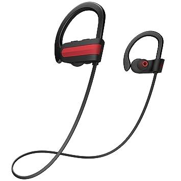 Bluetooth Headphones, Otium Best Wireless Running Headphones w/Mic HD Stereo Sound IPX7 Waterproof