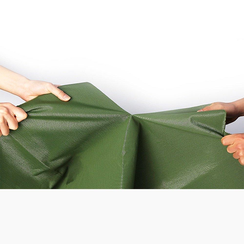 Dongyd Verdickende regendichte Plane, Fabrik-Waren-Abdeckung, Sonnenschutz Winddicht, kann kann kann eine Vielzahl der Größen -0.8mm-600g   Choose wählen (Farbe   Grün, größe   5  5m) B07PF98VP5 Zelte Niedriger Preis 960d71