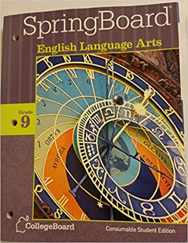 Springboard english language arts grade 9 consumable student edition springboard english language arts grade 9 consumable student edition 2014 unknown 9781457302213 amazon books fandeluxe
