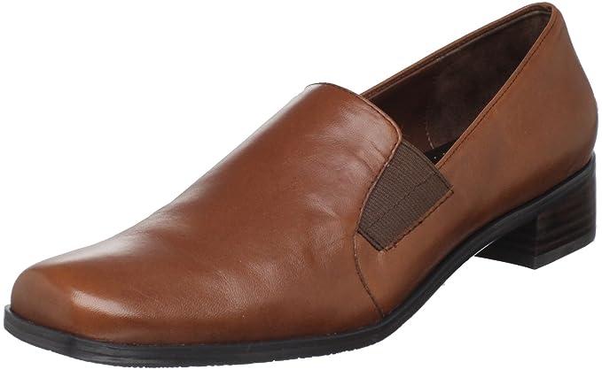 Trotters Ash Mujer Castaño claro Estrechos Mocasines Zapatos Nuevo: Amazon.es: Ropa y accesorios