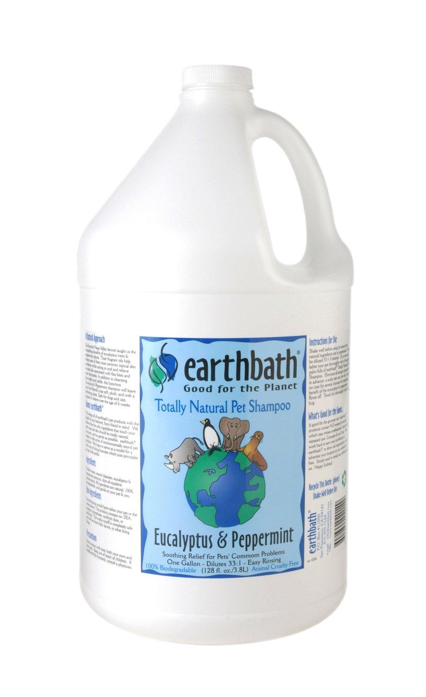 Earthbath Eucalyptus and Peppermint Concentrated Shampoo, 1-Gallon