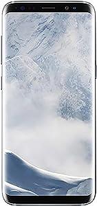 Samsung Galaxy S8 64GB GSM Unlocked Phone - International Version (Arctic Silver) (Renewed)