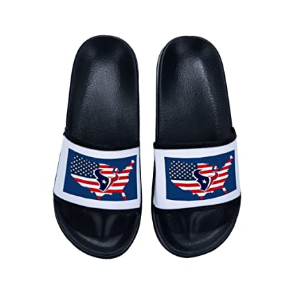 1fa0f66a9b53e8 Image Unavailable. Image not available for. Color  Wilbur Gold Summer Beach  Slippers Women Shoes Women American Flag Breathable Flip Flops Fashion  Slipper