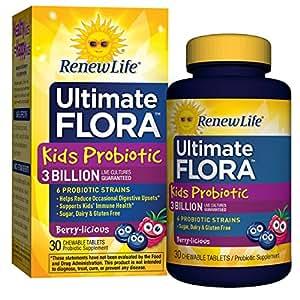 Renew Life Ultimate Flora Kids Probiotic 10 Billion 30