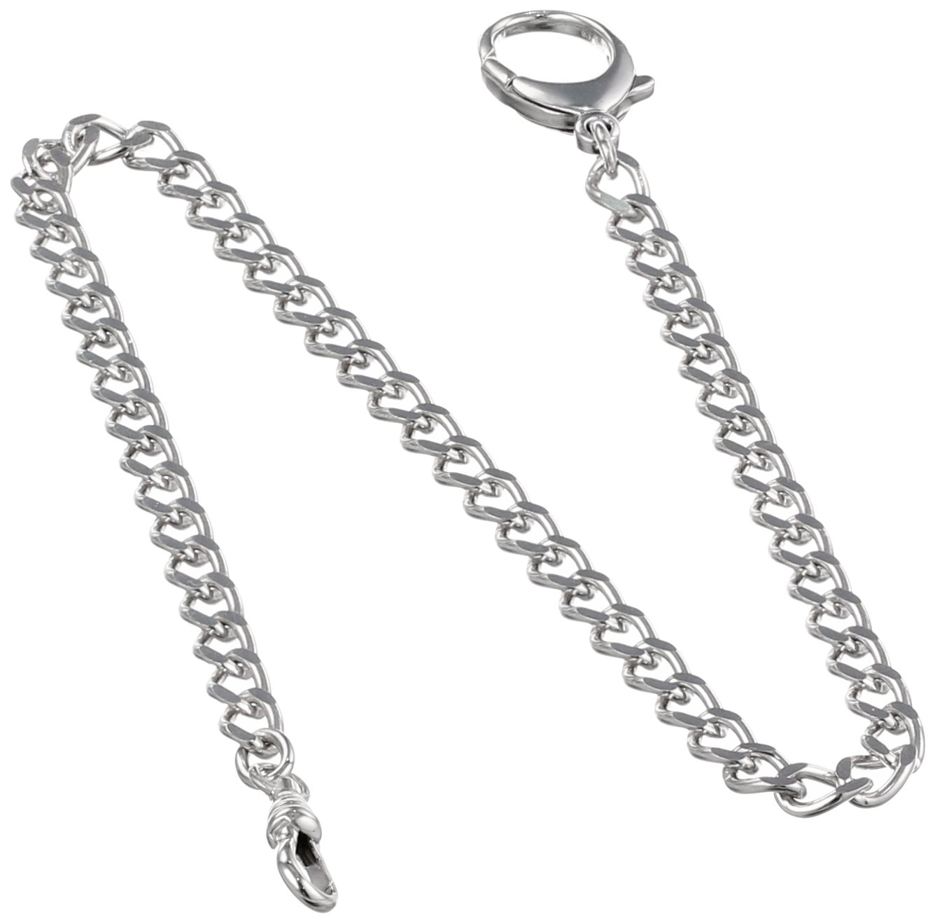 Charles-Hubert, Paris 3577 Sterling Silver Pocket Watch Chain