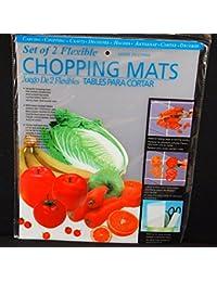 Bargain 4 Flexible Clear Chopping Cutting Mats Board 15