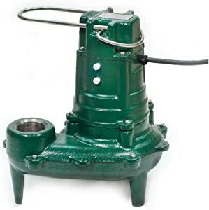 Zoeller 267-0002 Model N267 Waste-Mate Non-Automatic Cast Iron Single Phase Submersible Sewage/Effluent Pump