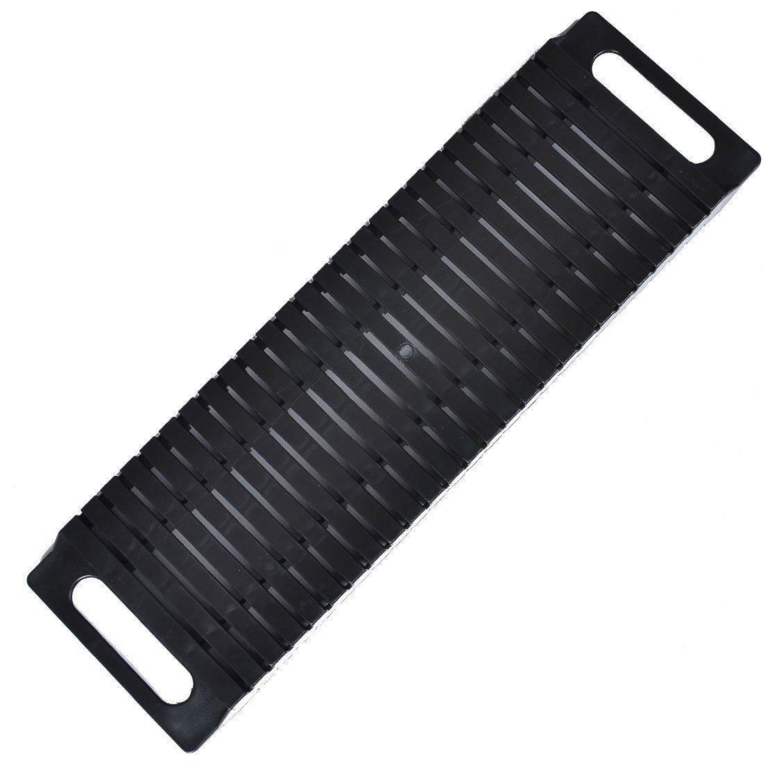 Antistatic ESD Circulation Rack Shelf - Sanbo Black Rack with Plastic Material 47 x 14 x 3.5cm by Sanbo