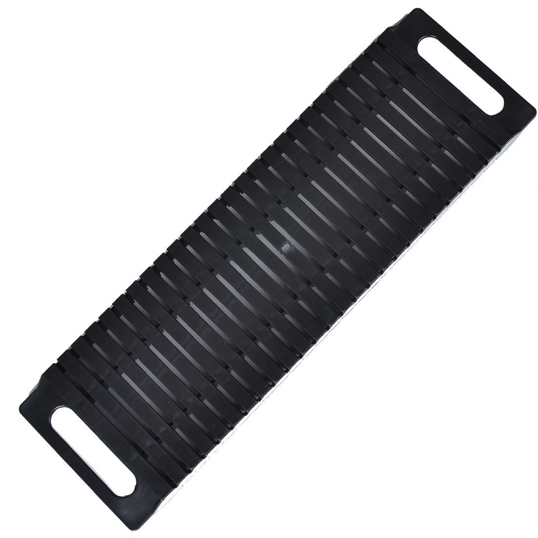 Antistatic ESD Circulation Rack Shelf - Sanbo Black Rack with Plastic Material 47 x 14 x 3.5cm
