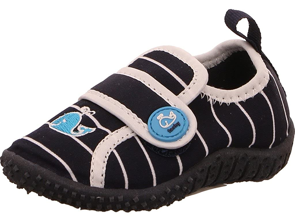 Fashy 7492 - Kinder Aquaschuhe Badeschuhe Wal