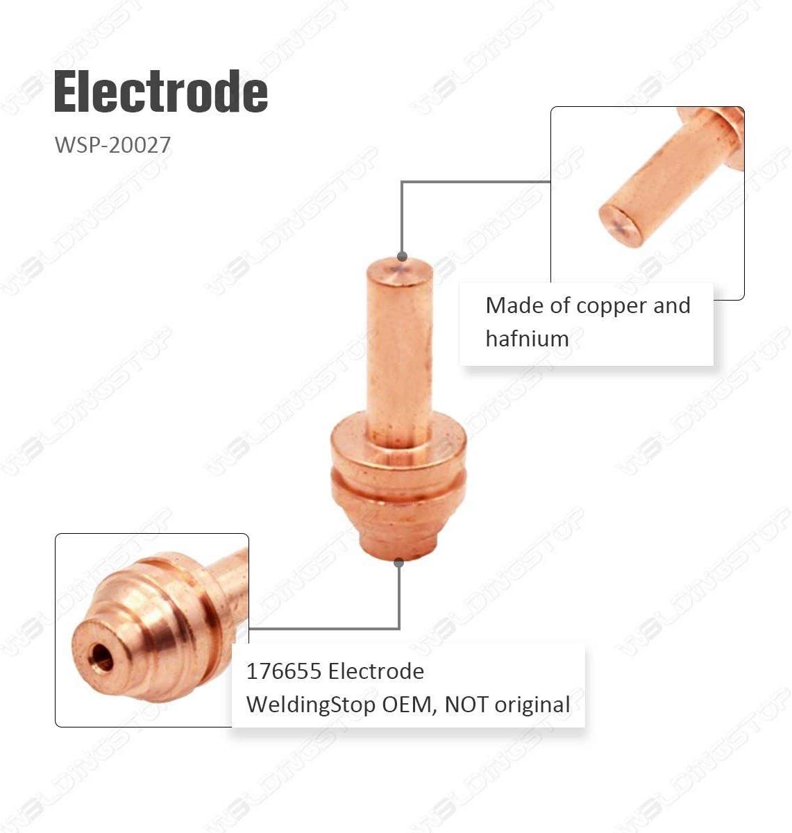 Hobart 176655R Welding Electrode 25 Amp
