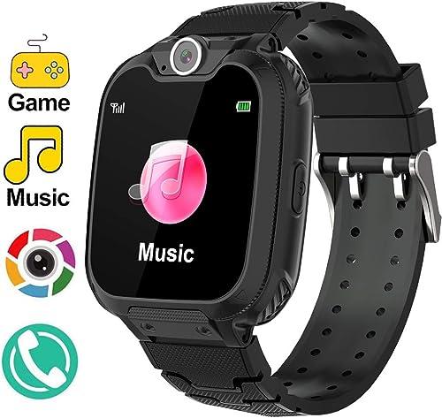 Smart Watch for Kids TKSTAR Music Game Kids Smart Watch HD Camera Kids Smart Watches with Music SOS Call Voice Chatting Christmas Birthday Gift Girls Boys