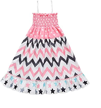 Solid Color Sleeveless Ruffle Dresses Clothes Yaseking Fashion Baby Girls Dress