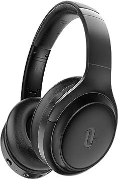 TaoTronics Cascos Inalambricos Bluetooth 5.0 Auriculares con Active Cancelación de Ruido Hi-Fi Sonido Estéreo CVC 6.0 con Micrófono Integrado, 30 Horas de Reproducir ANC Carga rápida para PC/TV/Móvil: Amazon.es: Electrónica