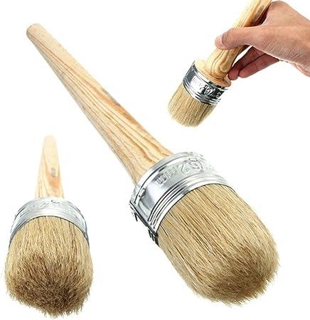 misura 40/mm per decorare la casa Ultnice pennello per gesso incerare per modellare per dipingere per mobili