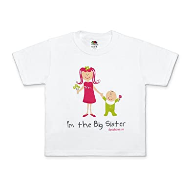 3aa97c5a51e Amazon.com  I m the Big Sister T-Shirt Gift Big Sister Gift Idea ...