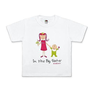 5d3b644b Amazon.com: I'm the Big Sister T-Shirt Gift Big Sister Gift Idea ...