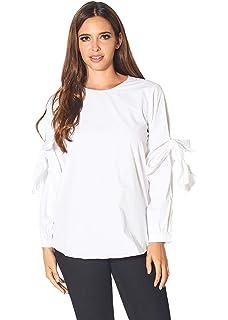 The Split Neck Puff Sleeve Air Shirt